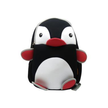 Lino Kids Peguin Style Backpack Tas Anak - Black