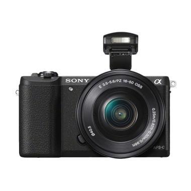 Sony Alpha A5100 kit 16-50mm Kamera Mirrorless - Black [24 MP]