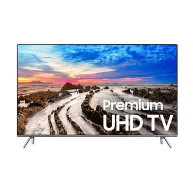 Samsung 65MU8000 4K ULTRA HD Smart TV - Hitam [65 Inch]