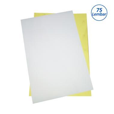 INDOPAPER Kertas Sticker HVS [21.8 X 32.5 cm/75 lembar]