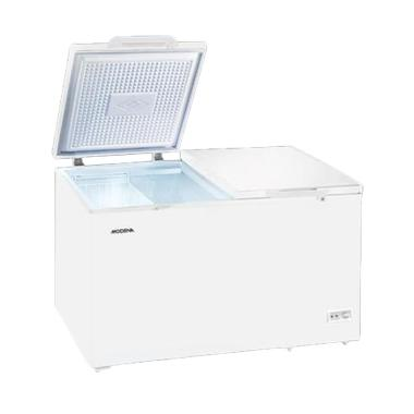 Modena Promo Md-36wh Chest Freezer 2 Pintu [360 L]