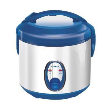Sanken Magic Com SJ120SP Rice Cooker - Biru Silver [1 L]