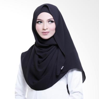 Cotton Bee Adelyn Pashmina Instant - Black Jade