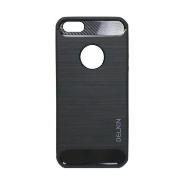 Delkin Slim Carbon Armor Casing for iPhone 5 - Hitam