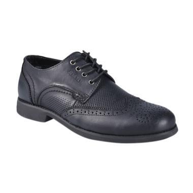 Jim Joker Casual Boot Home 2FA Sepatu Pria - Black