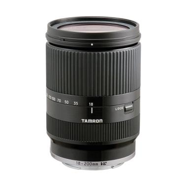 Tamron 18-200mm Di III VC F-3.5-6.3 Lensa Kamera for EOS M - Black
