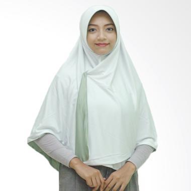 Pricilla Hijab Instan Bolak-Balik Dua Warna - Mint