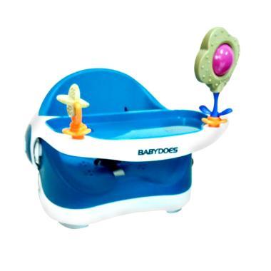 BabyDoes BD7340 Booster Seat Kursi Makan Bayi - Blue