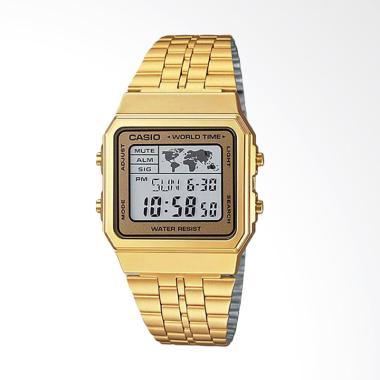 CASIO Gold A500WGA-9DF Jam Tangan Pria