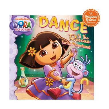 harga Dora the Explorer Dance to The Rescue Story Book Blibli.com
