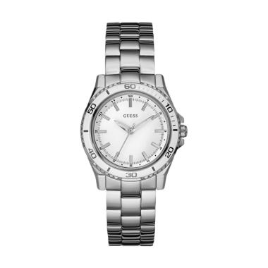 Guess W0923g1 Jam Tangan Pria Stainless Silver White Updated Source · ANTV Store Guess W0923G1 Source