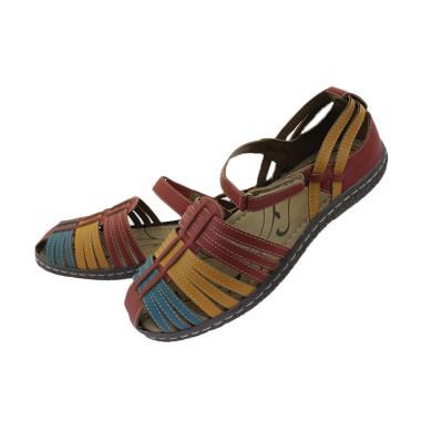 Ornella G2001 Bertali Sepatu Sandal Wanita - Maroon