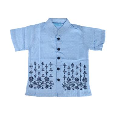 Versail Kids Junior M 7031 Baju Koko Anak - Bottom Blue