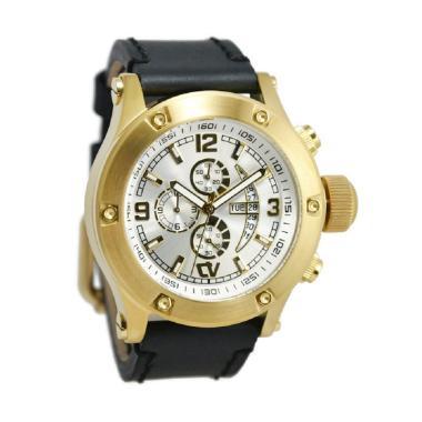 Christ Verra 52300G-22 Jam Tangan Pria - Hitam Gold