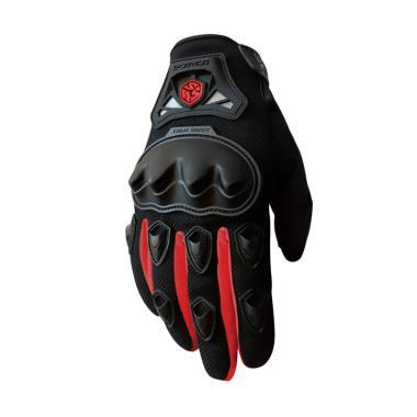 Scoyco MC29 Full Batok Sarung Tangan - Hitam Merah f0bf6608e7