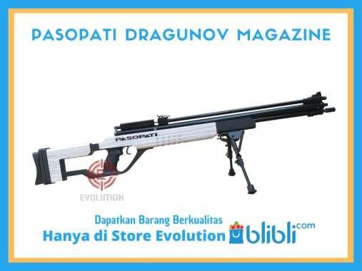 Senapan Angin Gejluk Pasopati Dragunov + Magazine