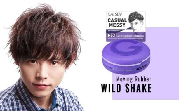 harga GATSBY CASUAL MESSY Wild Shake Powerful Stand Up Pomade Untuk Pria Blibli.com
