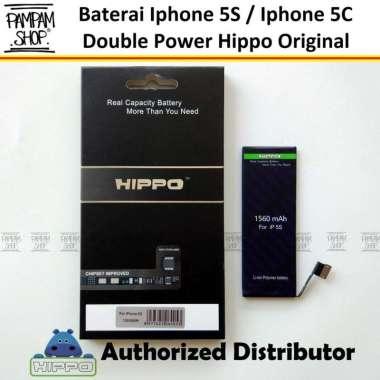 harga Baterai Hippo Double Power Original Apple Iphone 5S 5C Batre Batrai Battery Dual Handphone Hipo Ori Blibli.com