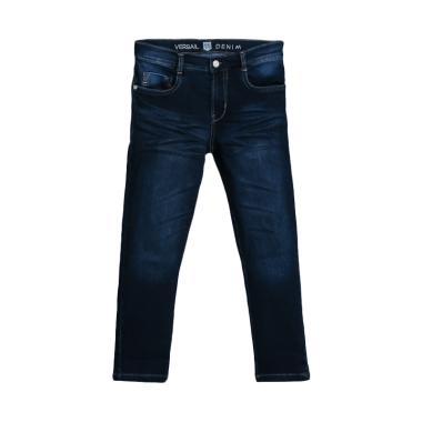 Versail Kids Jeans Wash Celana Panjang Anak Laki-laki - Denim