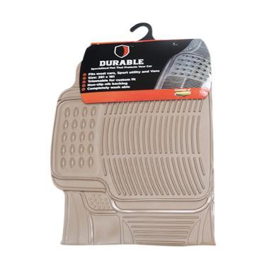 DURABLE PVC Karpet Mobil for Mobilio or BRV - Beige