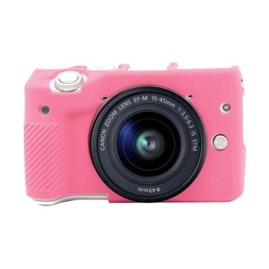 Godric Silicone Case for Canon EOS M3 - Pink Muda