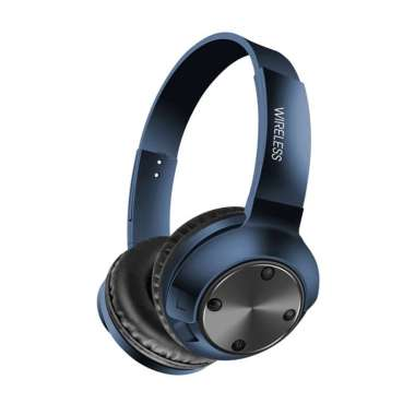 harga Bluelans MS-K14 Bluetooth 5.0 Wireless Rechargeable Gaming Sport Headphone Bass Headset Blue Blibli.com