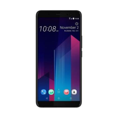 HTC U11 Plus Smartphone - Black [128GB/ 6 GB]
