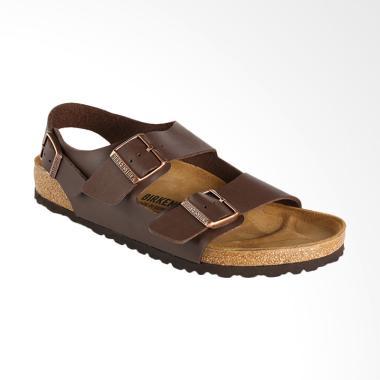 Birkenstock Milano Sandal Pria - Dark Brown