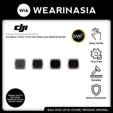 harga DJI Mavic 2 Pro ND Filters Set (ND4/ND8/ND16/ND32) Filter Camera Original Blibli.com