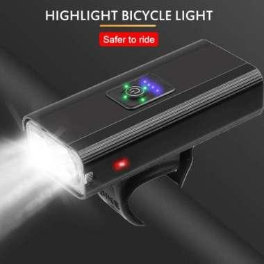 harga Lampu Sepeda bike light Z02A alloy case powerbank Multicolor Blibli.com
