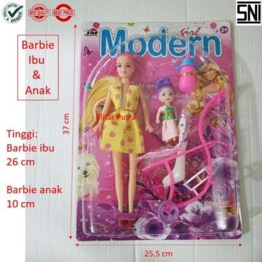 harga Barbie Ibu anak - boneka berbie stroller dot kereta bayi Variasi Multicolor Blibli.com