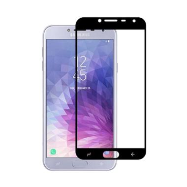 LOLLYPOP Tempered Glass Screen Protector for Samsung Galaxy J7 Duo - Black [5D/ 9H/ PET/ Full Cover]
