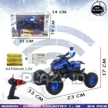harga Mainan MOBIL RC Rock Crawler Offroad Motor Polisi Mainan Anak Remote Control Remot Kontrol RADAR RDR1111 Blibli.com