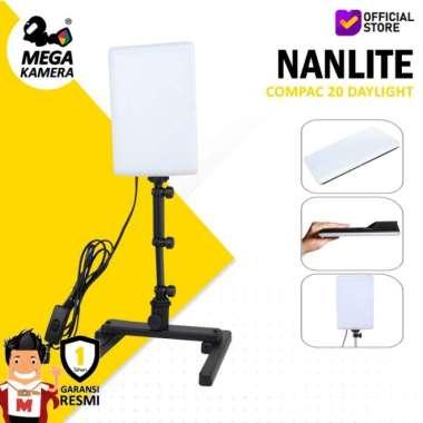 harga NO ONGKIR Nanlite Compac 20 Daylight Slim Soft Lighting Studio LED Panel Lampu Blibli.com