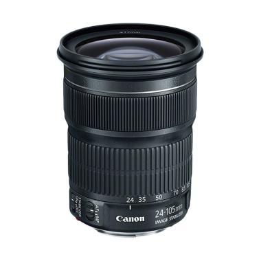 harga Canon EF 24-105mm f/3.5-5.6 IS STM Lensa Kamera Black Blibli.com