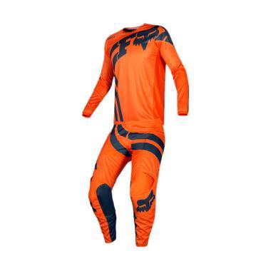 harga Fox 180 Cota Jersey Motocross [Size XL] + Celana Motocross - Orange [Size 38/ 21726-21727-002-XL38C] Blibli.com