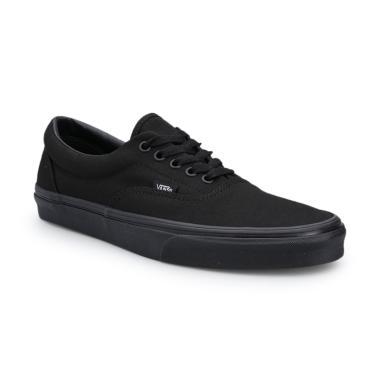 Vans U Era Sepatu Sneaker Pria - Black