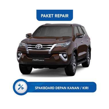 harga Subur OTO Paket Jasa Reparasi Ringan & Cat Mobil for Toyota Fortuner [Spakbor Depan Kanan or Kiri] Blibli.com