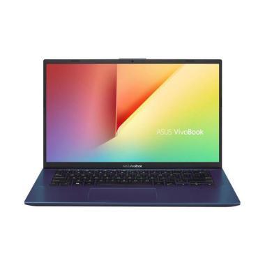 harga Asus A412FL-EK303T Notebook - Blue [Intel Core I3-8145U / 4GB / SSD 512GB / 14 Inch / Win-10 ) Blibli.com