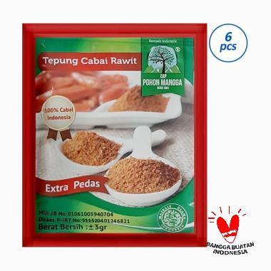 harga CAP POHON MANGGA Bubuk Cabai Rawit [6pcs] Blibli.com