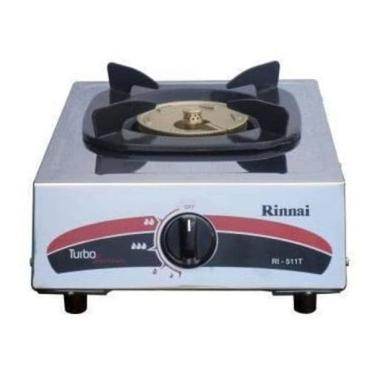 harga Rinnai RI 511 T Gas Cooker 1 Stove Turbo Burner Kompor Gas 1 Tungku Putih Blibli.com