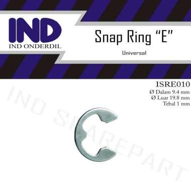 harga IND Onderdil Snap Ring Pengunci-Retaining E-10-E10 3-10 310 SILVER