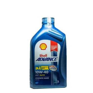 harga Shell Oli Motor 4 Tak Advance AX7 Matic 4 Tak 10W40 1L - Aksesoris Motor Blibli.com