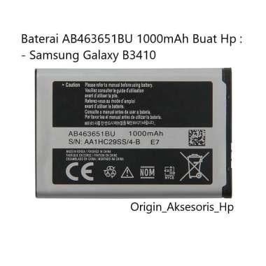 harga Original Baterai AB463651BU Buat Handphone Samsung Galaxy B3410 Blibli.com