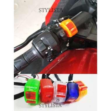 harga Saklar On Off Motor Universal Aksesoris Variasi Motor A57 Blue Blibli.com