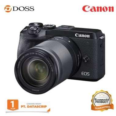 harga DOSS Canon EOS M6 Mark II Kit 18-150mm is stm / Canon EOS M6 Mark II BLACK Blibli.com