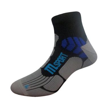 Marel Socks MA1P 16 RUN004 Running Ankle Socks - Black Mgh Blue