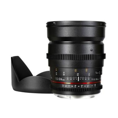 Samyang 24mm T1.5 VDSLR MK II Lensa Kamera for Canon