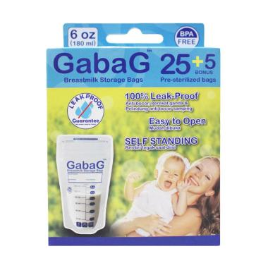 Gabag Breast Milk Storage Kantung Penyimpan ASI [180 mL]