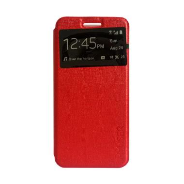 MyUser Flip Cover Casing for Oppo Neo 7 - Merah